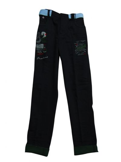 Boys Casual Denim Trouser - NJD1420991
