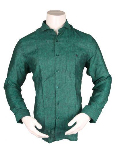 ZulusFestin Men's Linen Formal Shirt - ZF1302