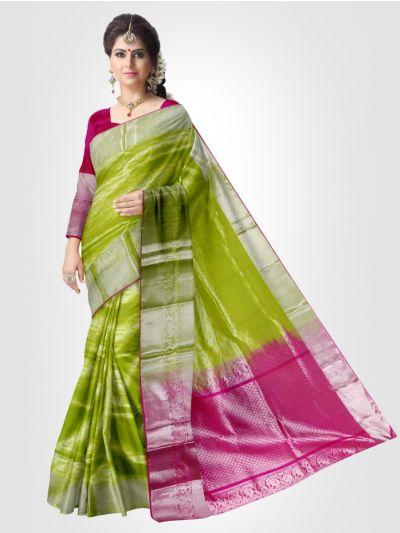 Traditional Kora Silk Saree