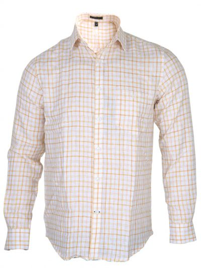 Zulus Festin Men's Formal Linen Shirt - MGC0296236