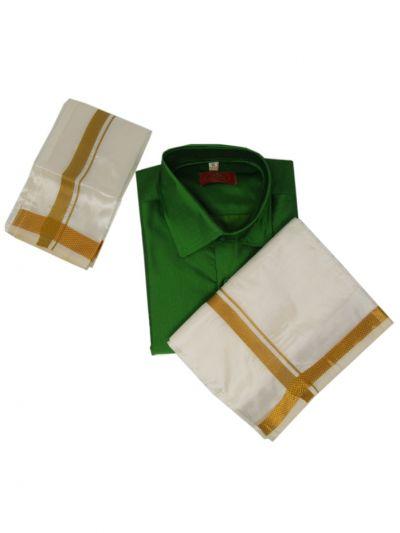NHB4415265 - Boys Cotton Dhoti Set