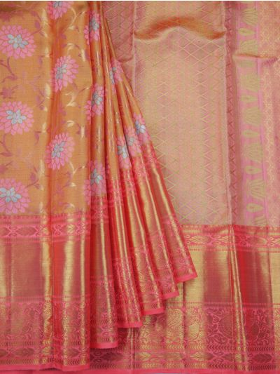 Goddess Handloom Pure Kanchipuram Silk Saree -  NCC0379957