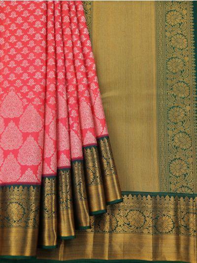Vivaha Handloom Pure Kanchipuram Silk Saree - NFA354075
