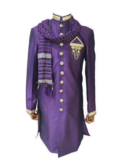 Exclusive Men Celebrant  Semi Silk Indo Western Suit - EKM