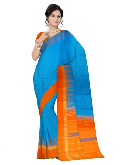 Estrila Kanchipuram Multicolor Silk Saree - LLD6606048