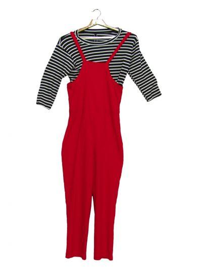 Women Fancy Dungaree Suit - NGB9807999 - EKM