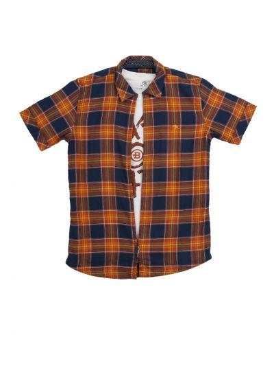 Boys Branded Shirt With T-Shirt - MLC1648886