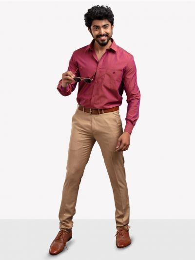 ZF Men's Formal Cotton Shirt