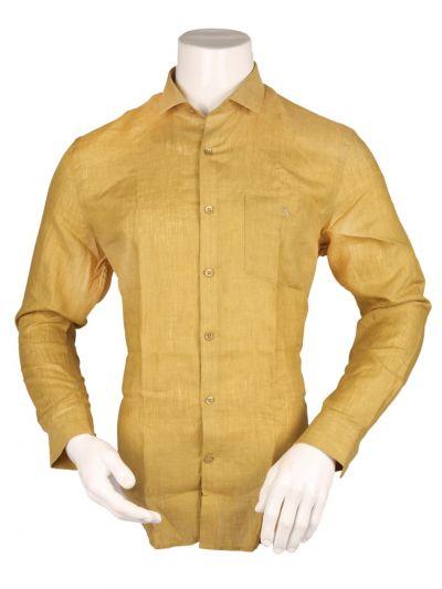 ZulusFestin Men's Linen Formal Shirt - ZF1303
