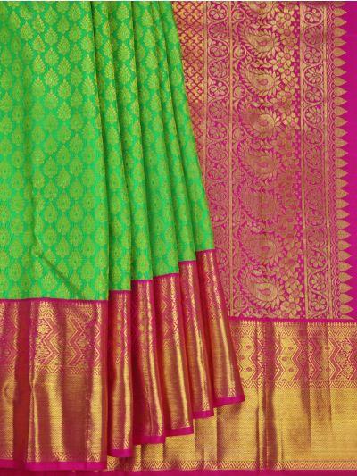 Vivaha Goddess Kanchipuram Pure Silk Saree - NEC2266605