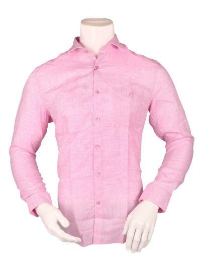 ZulusFestin Men's Linen Formal Shirt - ZF1304