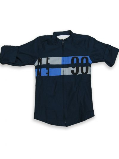 NGB8190390 - Boy Casual Shirt With T-shirt