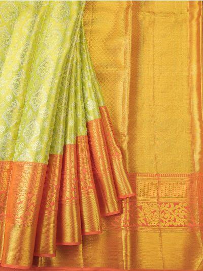 NED2856265 - Vivaha Exclusive Wedding Pure Kanchipuram Silk Saree