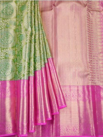 Vivaha Wedding Pure Kanchipuram Silk Saree - NID7204216