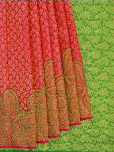 Vivaha Wedding Pure Kanchipuram Silk Saree - NFE6673938