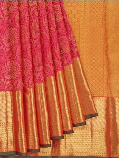 Vivaha Wedding Pure Kanchipuram Silk Saree - NGB9776457