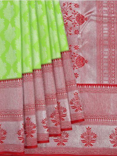 Vivaha Wedding Pure Kanchipuram Silk Saree - NKB2972242