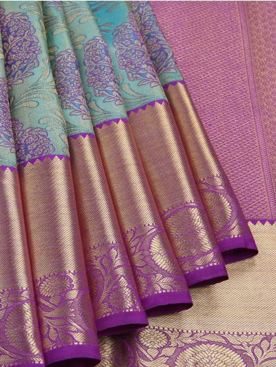 Vivaha Wedding Pure Kanchipuram Silk Saree - NLA4891845