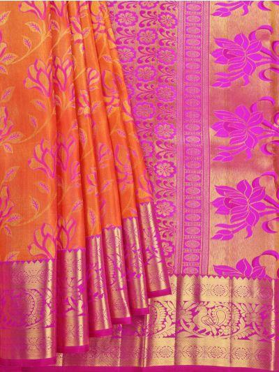 Vivaha Handloom Wedding Kanchipuram Silk Saree - NGD2507262