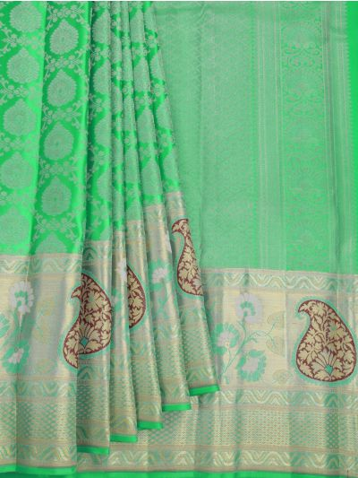 Vivaha Goddess Handloom Wedding Kanchipuram Silk Saree - NJA9606277