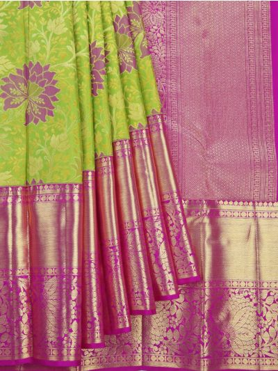Vivaha Goddess Handloom Wedding Kanchipuram Silk Saree - NJA9606610