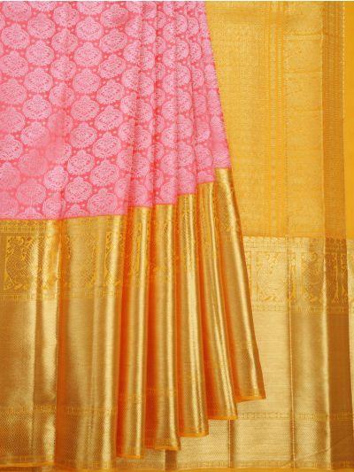 Vivaha Goddess Handloom Wedding Kanchipuram Silk Saree - NKB3112256