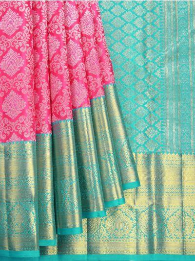 Vivaha Goddess Handloom Wedding Kanchipuram Silk Saree - NKB3117602