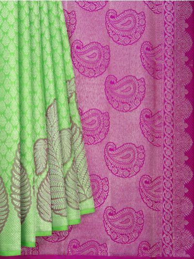 Vivaha Goddess Handloom Wedding Kanchipuram Silk Saree - NLA4810562