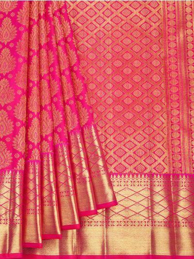 Vivaha Goddess Pure Kanchipuram Silk Saree - NLA4837410