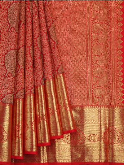 Vivaha Goddess Pure Kanchipuram Silk Saree - OAA0000026
