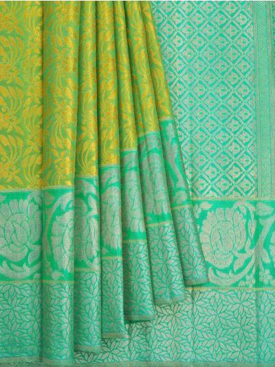Vivaha Goddess Pure Kanchipuram Silk Saree - OAA0000033