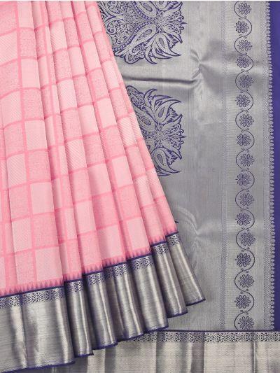 Vivaha Pink Wedding Pure Kanchipuram Silk Saree - OEC5910162