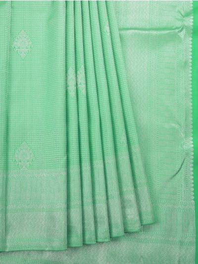Vivaha Green Wedding Pure Kanchipuram Silk Saree - OEC5991360