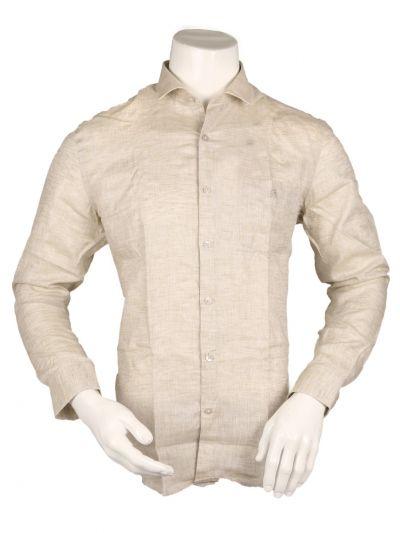 ZulusFestin Men's Linen Formal Shirt - ZF1305