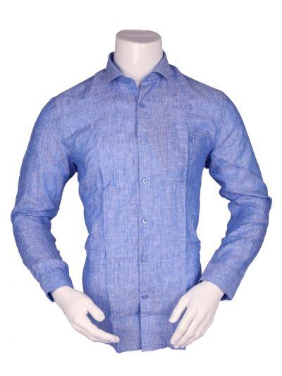 ZulusFestin Men's Linen Formal Shirt - ZFS1306