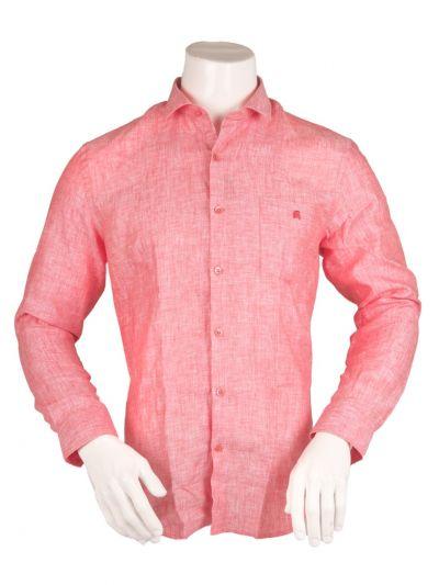 ZulusFestin Men's Linen Formal Shirt - ZFS1307