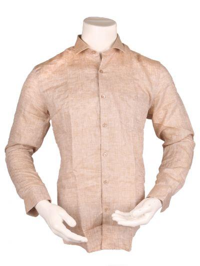 ZulusFestin Men's Linen Formal Shirt - ZFS1308