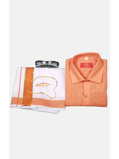 Boys Cotton Dothi Set