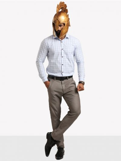 Zulus Festin Men's Formal Cotton Shirt - ZSF09