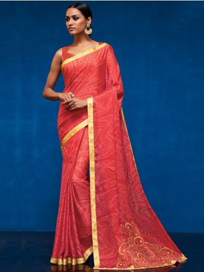 LFC5308674-Georgette Party Wear Saree