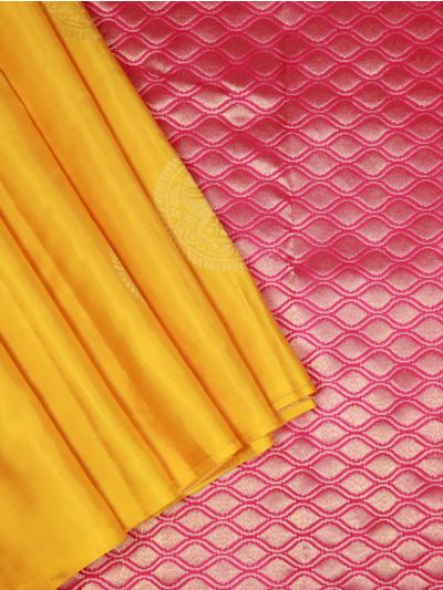 Bairavi Yellow Traditional Silk Saree