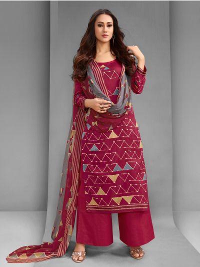 Isabella Women's Cotton Dress Material - CDM10701