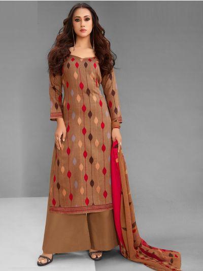 Isabella Women's Cotton Dress Material - CDM10704