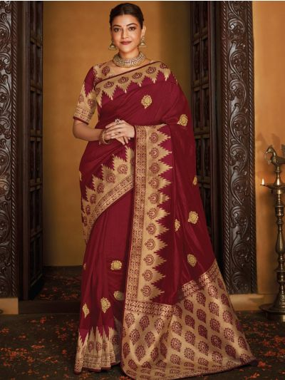Exclusive Designer Party Wear Saree With Designer Blouse - SKSH1101