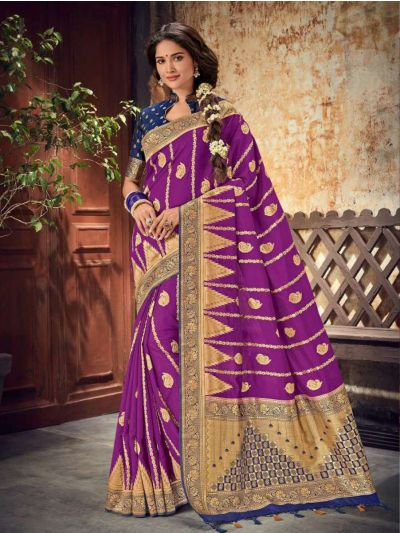 Fancy Semi Jute Saree