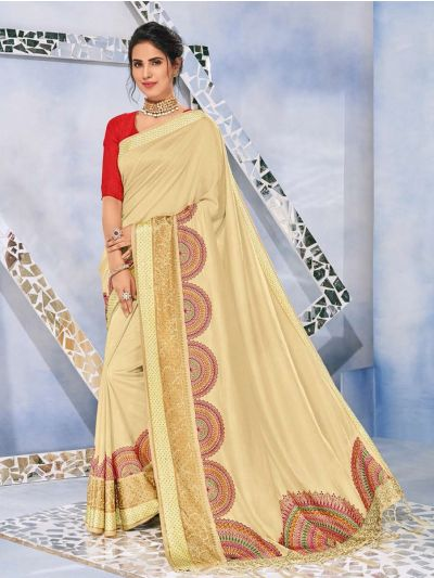 Kathana Fancy Raw Silk With Stone Work Saree