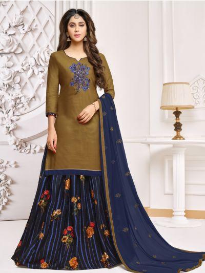 Isabella Women's Cotton Work Dress Material - WDMQ12011