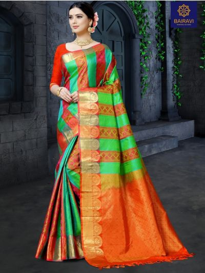 Bairavi Traditional Silk Saree-BTSS1201