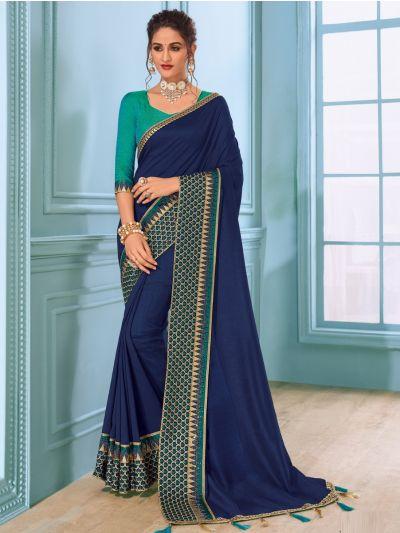 Kathana Fancy Raw Silk Saree - MHB1593104