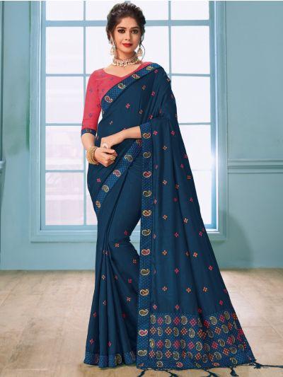 Kathana Fancy Raw Silk Saree - MHB1593111